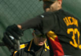 Peter Diana / Post-Gazette Staff Photographer 2/19/2007  BRADENTON : Pittsburgh Pirates pitching...