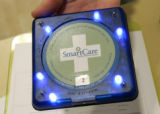 Patients visiting a SmartCare (cq) Family Medical Center, located at the Wal-Mart Super Center at...