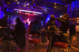 Josh Blackburn performs in the concert hall at the  Walnut Room at 3131 Walnut St. in Denver's...