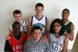 Member of the Rocky Mountain News All-Colorado Boys basketball team shot at Horizon High School,...
