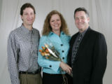 Jefferson Award winners are Vern Engbar, Donna Herod and Matt Hogan in Denver, Colo. on Tuesday...