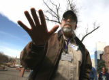 Roy Railsback (cq) comments during a CDOT  rally at the west steps of the capital Friday March...