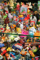 A toy collection in the condo of Mickey Ackerman (cq), an interior designer, and his partner,...