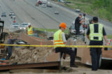 (DENVER, CO., MAY 17, 2004)  Representatives from Colorado Department of Transportation, the...