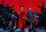 (NYT29) NEW YORK -- Nov. 16, 2006 -- POPPINS-THEATER-REVIEW-2 -- From Left: Katherine Doherty as...