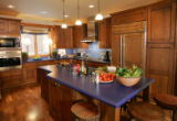 The kitchen in the HGTV Dream Home in Winter Park, Colorado on March 24, 2007.  Robert O'Neill,...