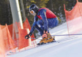 Summit Daily/Mark Fox Jake Zamansky, Aspen resident and a member of the U.S. Ski Team, flies...