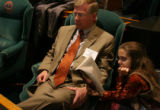 MJM090    Representative-elect, Kent Lambert (cq) R-Colorado Springs, sits with his daughter,...