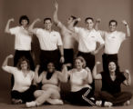 Fitness challenge and trainers.   Trainers in back, from Lakeshore Athletic Club in Broomfield,...