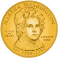 WX102 - This handout artist rendering provided by the U.S. Mint shows the proposed Martha...