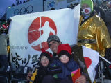 the first is Nick with Bode Miller right after the Olympic slalom in Sestriere and the other is of...