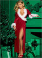 Holiday Gift Guide 2006 (Spotlight Dec. 7, 2006) (NAUGHTY OR NICE?) VELVET & MARABOU ROBE ...