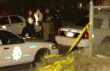 (DENVER, Colo. August 19, 2004) Raliegh and Tennessee Sts. Denver Police confronted a male suspect...