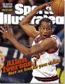Sports Illustrated cover with Allen Iverson from March 9, 1998.
