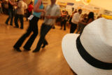DLM1999  Dancers compete in beginners Jack and Jill competition of the Colorado Salsa Open State...