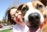April 9th, 2007. Sonya Diaz has a 2-year-old pit bull mix named Gryffindor that will be part of a...