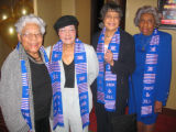Founding Jack & Jill Denver Chapter members, from left, Mary W. Smith, Lynn Noel, Ernestine...