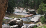 The Cheesman Canyon stretch of the South Platte is a world-class trout stream, but some silt...