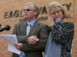 Parents Vern and Marilyn hold a press conference Tuesday Mar. 27, 2007 before their son's,...