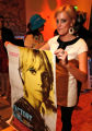 Orla Dirks as Edie Sedgwick.   (STEVE PETERSON/SPECIAL TO THE ROCKY)The Art of Pop, an event...