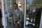 Andre Holliday (cq) opens his store , Clothing by Andre, at 326 St. Paul ,Thursday May 3,2007....
