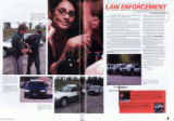 "2007 Conifer yearbook p. 32-33 ""Law Enforcement.""  Pages from the Conifer High School..."