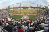 CHRISTOPHER TOMLINSON/GRAND JUNCTION DAILY SENTINEL--A packed house for JUCO baseball.