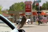 Denver, Colo., photo taken May 18, 2004- With the hot summer travel season upon us, a motorist...