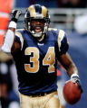NY150 - ** FILE ** St. Louis Rams running back Lamar Gordon celebrates after scoring a touchdown...
