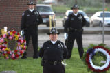The annual Fallen Officer Memorial Ceremony was held by the Denver Sheriff's Department in front...
