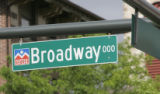 A sign for Broadway at the 000 number, in Denver, Colo.on Tuesday May 15, 2007.  Its 2 blocks of...