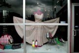 A good window to shop of  True Love - a new store as we look at two blocks of Broadway, in Denver,...