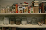 Erin Butler has an organized pantry adjoining her kitchen in Denver, Colo.on Wednesday, May 16,...