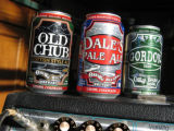 Oskar Blues canned beer.  Cindy Hirschfeld column for Tracks