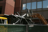 Cherry Creek North is under reconstruction. Several structures from the former Tattered Cover...