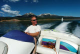 (DILLON COLO., June 20, 2004)  Russell Ferris, a 25 year resident of Keystone, enjoys a early...