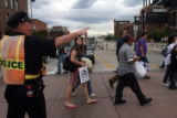 Fans gravitate towards Coors Field as the Rockies face the Arizona Diamond backs on game three of...