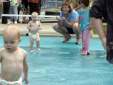 (PUEBLO, Colo., August 24, 2004) Kyle and Kady, (cq Kady from mom), 17 month old twins Bierbaum,...