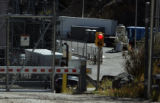 There was little activity at the  Xcel Energy Cabin Creek hydroelectric plant in Georgetown,...