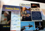 """Fishing Knots,"" by Lefty Kreh, and ""Barr Flies,"" by Colorado fly tier John Barr, are new from..."