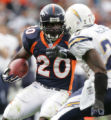 [JOE0279] - Denver Broncos Travis Henry against the San Diego Chargers., on Sunday afternoon, Oct....