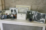 Dr. Marina Yarbro displays mementos from the life of her daughter, Francys Arsentiev, in her...