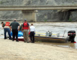 Mesa County Sheriff Search & Rescue recover the body of Ricky Crewse whos raft turned over...