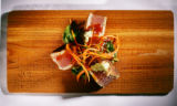 Tuna. Fish from the Bonefish Grill in Littleton on May 22, 2007 for Food story.  The model for the...