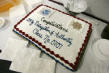 0002 A cake was made for the 22 Colorado State Patrol officers who graduated from the Immigration...