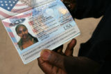 MJM069 Yohannes Haile (cq), who is the uncle of Bethlehem Gezaee holds a passport for her that he...
