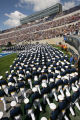 MJM170   Air Force Academy cadets enter Falcon Stadium Wednesday May 30, 2007 in Colorado Springs,...