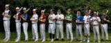 DLM0299  The 2007 Rocky Mountain News All-Colorado baseball team at Coors Field Sunday, June 3,...
