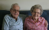 Jim and Eva Mae Larson. in the home Monday morning June 4, 2007, in Windsor Gardens, Denver. They...
