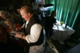 0153 Mario Batali gives a cooking seminar during the 25th Anniversary Aspen Food & Wine...